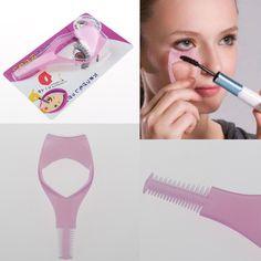 Ferramenta de maquiagem curvex guarda aplicador de cosméticos Mascara escova alishoppbrasil