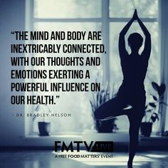 Your mind and body are so inextricably connected! Taking control of your emotion is a part of taking control of your health.   The free screening of E-Motion featuring Dr. Bradley Nelson is now available, start streaming here --> www.fmtv.com/live