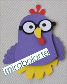 Mirabolarte - Scrapbook e Cartonagem: GALINHA PINTADINHA E BORBOLETINHA - FORAM PARA MIAMI PARTE 2