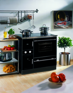 la thermorossi bosky chef con horno es una cocina de le a r stica con una potencia de 12 kw que. Black Bedroom Furniture Sets. Home Design Ideas