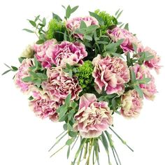 This uplifting bouquet is guaranteed to bring plenty of joy and beauty to the lucky recipient! Beautiful Flower Arrangements, Most Beautiful Flowers, Early May Bank Holiday, Hand Tied Bouquet, Simple Website, Same Day Flower Delivery, Mothers Day Flowers, Order Flowers, Carnations