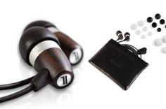 J.Fi Acoustic Natural Ebony Wood Earphones - $43.40 | The Geeky Store
