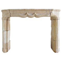 French Louis XIV Period Limestone Fireplace - 18th Century | From a unique collection of antique and modern fireplaces and mantels at http://www.1stdibs.com/furniture/building-garden/fireplaces-mantels/