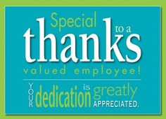 employee thank you quotes Employee Appreciation Day Inspirational Quotes Employee Appreciation Messages, Appreciation Note, Work Appreciation Quotes, Appreciation Images, Employee Thank You, Good Employee, Inspirational Quotes For Employees, Motivational Quotes, Job Well Done Quotes