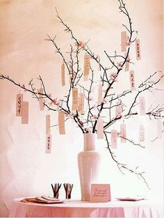 Idea guestbook: wish tree 1