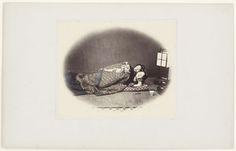 Felice Beato   Twee slapende Japanse vrouwen, Felice Beato, 1867 - 1868  
