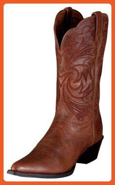 Heritage Western J Toe Russet Rebel 6 B - Boots for women (*Amazon Partner-Link)
