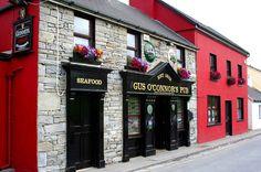 Doolin, Ireland - great neighborhood pub and amazing live music.