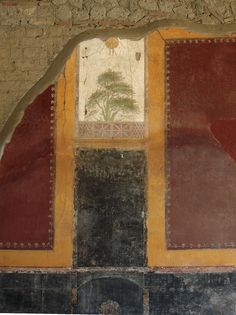 Landscape. Fresco in the portico of the large peristyle. Mid-1st century CE. Stabiae, Villa San Marco