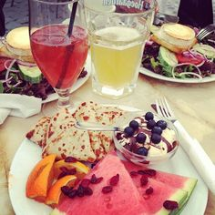 #lunch #fruits #drink