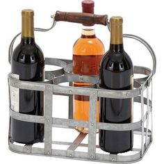 UMA Enterprises Avon 6 Bottle Tabletop Wine Rack