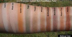 http://www.eyeslipsface.com/elf/eyes/eyeshadow/custom_eyes http://makeupcase1.blogspot.com/2013/09/elf-cosmetics-essential-custom_18.html