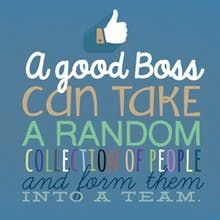 Teamwork Boss Day Card Free Greetings Island Boss Day Quotes Bosses Day Cards Happy Birthday Boss Quotes