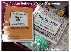 Using Adapted Books {TAH in Your Class} by theautismhelper.com