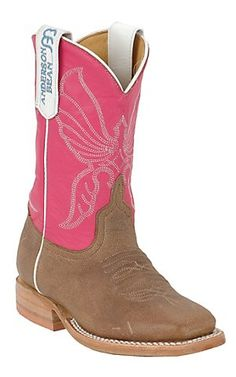 Cavender's carries an extensive selection of kid's square toe cowboy and cowgirl boots for children of all ages. Little Cowgirl, Cowboy And Cowgirl, Cowgirl Boots, Anderson Bean, Shoe Boots, Shoe Bag, Square Toe Boots, Western Wear, Bones