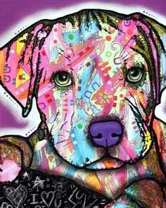 oh my glob! I have a pitbull and she is so l kind and loyal plus this picture is so creative and lovely!