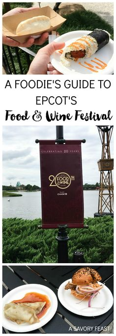 A Foodie's Guide to Epcot's Food and Wine Festival // Orlando, Florida Travel Tips