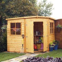 corner shed 7 x 7ft 5019804773480 - Corner Garden Sheds 7x7