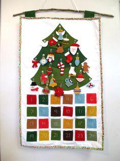 adorable handmade advent calendar