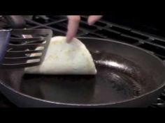 Pita in a Pan Flatbread Recipe Video, find the written recipe at www.DedeMed.com
