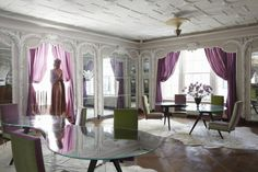Contemporary Dining Room in New York, NY by Robert Couturier, Inc.
