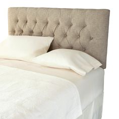 Found it at Wayfair - Dublin Upholstered Panel Headboard