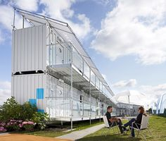 Shipping Container Homes If you like please follow our boards! Click for plans to build.
