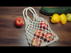 Macrame Market Bag Tutorial | DIY Shopping Bag - YouTube