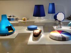 "Kvadrat found an original and spectacular way to show their ""design classic"" Hallingdal 65 @ Jill Sander Showroom @ Milan! #Salone2012"