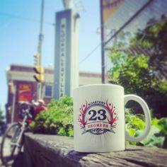 Bloordale Village! #23degreesroastery #23drmug #coffee #local #Toronto #BloordaleVillage #BloorSt #DufferinSt #certifiedorganic #certifiedfairtrade #GTA