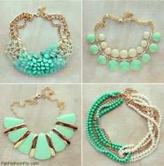 Turquoise necklaces. I will take them all!