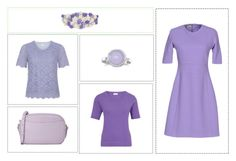 """""""True Summer {Shades of Purple}"""" by simplycrimson on Polyvore A palette of purples for a #TrueSummer should always incorporate lavender, orchid, and violet."""