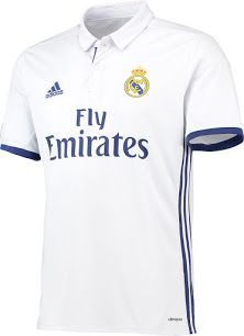 81078badee6 Real Madrid Home Kit 2016-17 Real Madrid Home Kit, Soccer Kits, Football