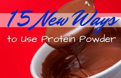 Looking for a new way to use protein powder? Try one of these recipes or tips today!