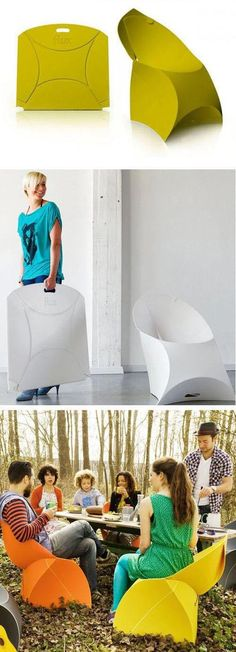 Flux Chair. #smart #furniture #design