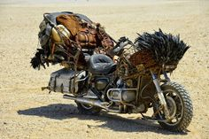 Mad Max Fury Road Motorcycles ~ Return of the Cafe Racers