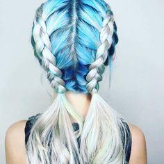 Gorgeous hair!!  #mermaidhair #ombrehair #balayage #hairgoals #haircolorideas