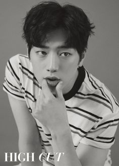 """Seo Kang Joon, who is set to play the lead in the upcoming drama """"Are You Human?"""" has a pictorial for High Cut Vol. Asian Actors, Korean Actors, High Cut Korea, Jong Hyuk, Sung Joon, Kang Jun, Seung Hwan, Ahn Jae Hyun, Kdrama Actors"""