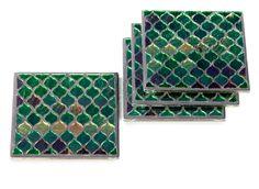 Mandalay Coaster - Set of 4 | Bar Accessories | Tableware | Z Gallerie