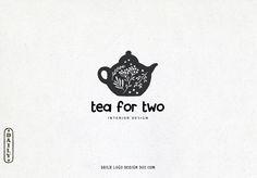 Vintage Floral Tea Pot Logo Design by Daily Logo Design, The Paris Studio