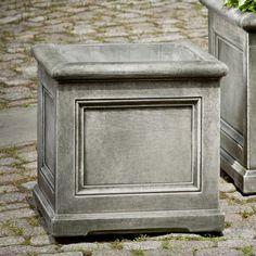 Campania International Small Orleans Cast Stone Planter Pietra Vecchia