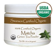 At just $9.99, Swanson 100% Certified Organic Matcha Green Tea is a steal!