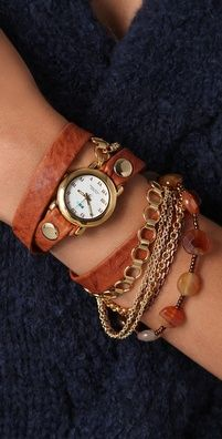 La Mer Sedona Stones Wrap Watch! LOVE!!!!!!