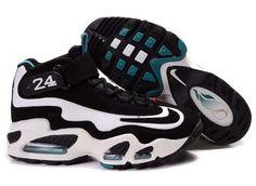 87b698fe45 Nike Air Griffey Max 1 Fresh Water Black White Blue Cheap Nike Air Max, Nike