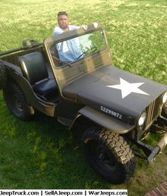Used Jeeps and Jeep Parts For Sale - Buy a retired Special Forces Servicemember's Baby Patton!