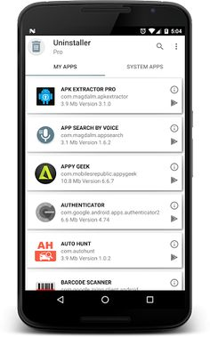 UNINSTALLER PRO v1.2.7 [Unlocked]   UNINSTALLER PRO v1.2.7 [Unlocked]Requirements:4.0.3Overview:This app will help you to remove any application from your device. You can only uninstall the system apps if device it is rooted.  This app will help you to remove any application from your device. You can only uninstall the system apps if device it is rooted.  Important features:   Quickly remove apps.  Speed load app.  Multi-search search app by name weight version package and more.  Various…