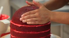 How To Cake It Yolanda Gampp Watermelon Cake Pink Velvet Cake Cake Pink, Pink Velvet Cakes, Watermelon Cake, Watermelon Birthday, 14th Birthday Cakes, Birthday Fun, Birthday Ideas, Chocolate Chips, Chocolate Cake