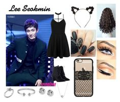 """""""Lee Seokmin (DK)"""" by itz-meh-liz ❤ liked on Polyvore featuring Zimmermann, WithChic, FOSSIL, Michael Kors, Casetify and Charlotte Russe"""