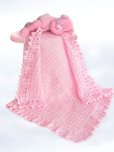Free Knitting Patterns For Baby Blanket Borders : 1000+ images about Crochet - Baby Afghan on Pinterest ...