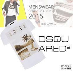 Quest'#estate Dsquared2 presenta una #collezione glamour come non mai, anche per #lui! http://bit.ly/1HQaVDQ #newcollection #tshirt #fashion #summer #beachstyle #men